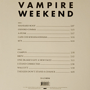 Vampire Weekend - One (Blake's Got A New Face) Noten für Piano