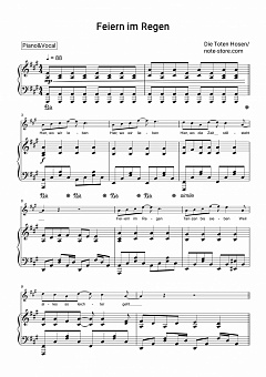 Feiern Im Regen Text Neuer Hit Von Die Toten Hosen Der Rock