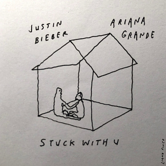Ariana Grande, Justin Bieber - Stuck with U Noten für Piano