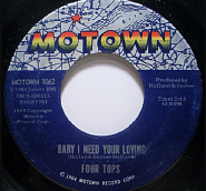The Four Tops - Babe I Need Your Lovin Noten für Piano