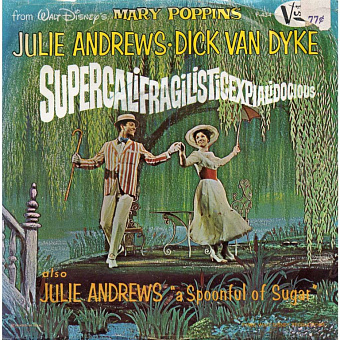 Julie Andrews, Dick Van Dyke - Supercalifragilisticexpialidocious (From Mary Poppins) Noten für Piano