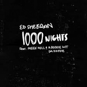 Ed Sheeran, Meek Mill, A Boogie wit da Hoodie - 1000 Nights  Noten für Piano