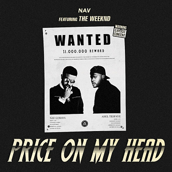 NAV, The Weeknd - Price on My Head Noten für Piano