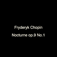 Frederic Chopin - Nocturne B-flat minor, Op. 9, No.1 Noten für Piano