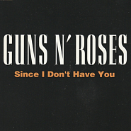 Guns N' Roses - Since I Don't Have You Noten für Piano
