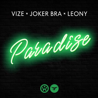 VIZE, Capital Bra, Leony - Paradise Noten für Piano