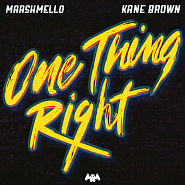 Kane Brown usw. - One Thing Right Noten für Piano