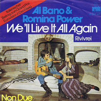 Al Bano & Romina Power - We'll Live It All Again Noten für Piano
