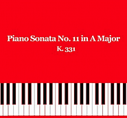 Wolfgang Amadeus Mozart - Piano Sonata No. 11 in A major, part 2 Menuetto Noten für Piano