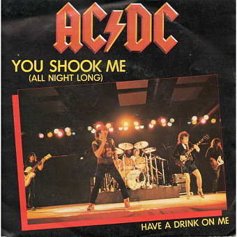 AC/DC - You Shook Me All Night Long Noten für Piano