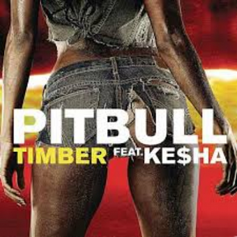 Pitbull, Ke$ha - Timber Noten für Piano