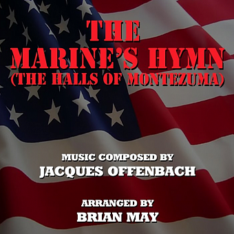 Jacques Offenbach - The Marines' Hymn Noten für Piano