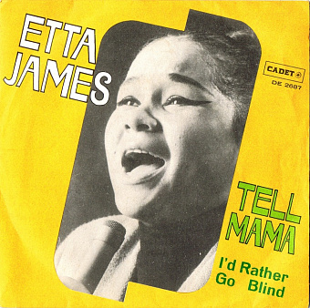 Etta James - I'd Rather Go Blind Noten für Piano
