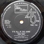 The Four Tops - It's All In The Game Noten für Piano