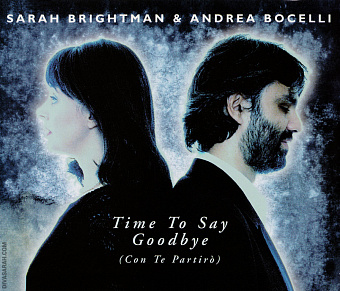 Sarah Brightman, Andrea Bocelli - Time to Say Goodbye Noten für Piano