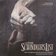 John Williams - Schindler's List Noten für Piano