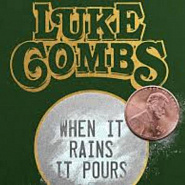 Luke Combs - When It Rains It Pours Noten für Piano
