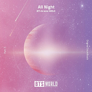 BTS usw. - All Night (BTS World Original Soundtrack) [Pt. 3] Noten für Piano